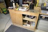 Wooden Shop Cabinet