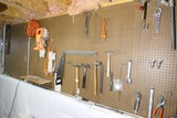 Tools on wall lot