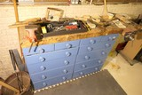 Workbench/Cabinet/Vices lot