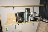 Shelf lot of misc items