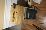Wooden TV Tables and File sorter