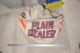 Old Plain Dealer paper delivery bag
