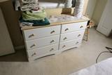 Wooden Dresser w/Mirror