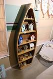 Hand made canoe shelf