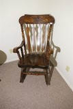 Vintage Hitchcock style rocking chair