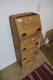 Wooden kitchen storage cabinet