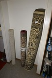 2 Rugs and a carpet remnant