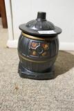 Wood Stove Cookie Jar