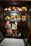 Cabinet Lot assorted decor including Japanese