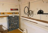 Corner Lot Hardware cabinet, wall items