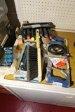 Group Lot of Tools, Sockets, Hacksaw etc