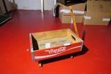 Vintage Coca-Cola Crate Made into decorative Sleigh