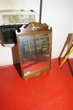 Vintage Wooden Mirror w/eagle design