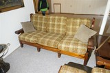 Chunky 70s furniture couch