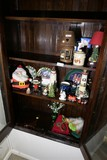 Christmas etc cupboard contents