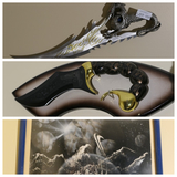 2 Fantasy Knives and Framed Print