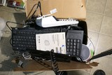 Box lot of office/electronics accessories