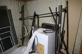Scrapper lot - metal bed frames, washing machine