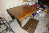 Nice large sized antique wooden table