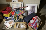 Large Lot Misc Prints, household, china etc