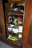 Contents of large armoire