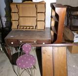 Vanity, Ice Cream Chair, Shelf, Sorter, stand