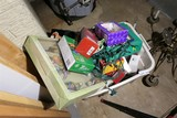 Box lot of assorted Christmas items