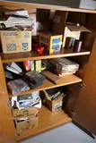 Contents of storage cabinet - toys/games