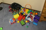 Group lot assorted toys