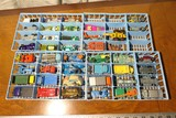 Large Qty of Red Line Hot Wheels Cars in Case + More