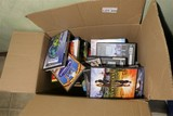 Large Lot of Movie DVDs in Box