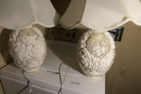 Pair of decorative Shelf form lamps