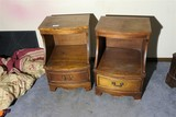 Pair of Nightstands with Drawers