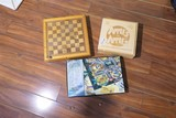 Lot of three games - Clue, Chess, Apples to Apples