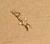 14k gold Angel Pendant