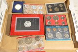 Group lot of assorted mint coin sets