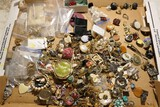 Large Lot of Assorted Costume Jewelry and more