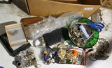 Large Lot assorted jewelry, watches, smalls