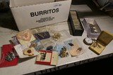 Large lot coins, jewelry, pocket watch etc