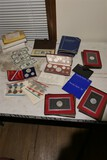 Large lot of collectible coins inc. Bahamas Silver set
