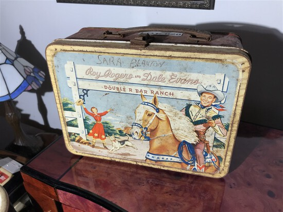 Roy Rogers 1950s Lunchbox