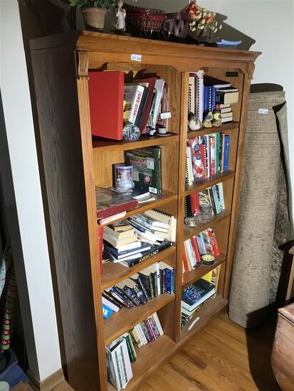 Nice vintage wooden shelf unit