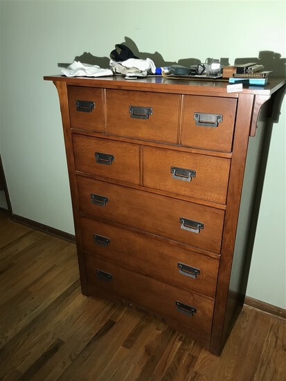 Mission Style nightstand by Broyhill Furniture