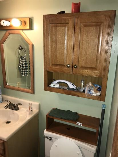 Bathroom contents cleanout lot