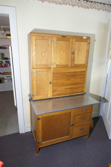 Nice Antique Hoosier Style Kitchen Cabinet