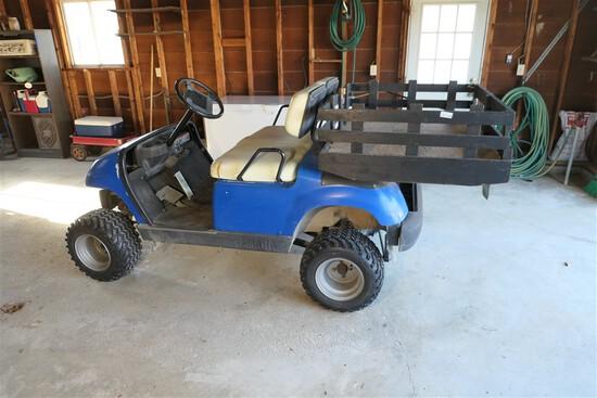 2005 Yamaha Gas Utility Golf Cart