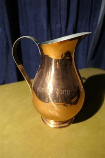 1956 Buckeye Lake Yacht Club Snowball Trophy