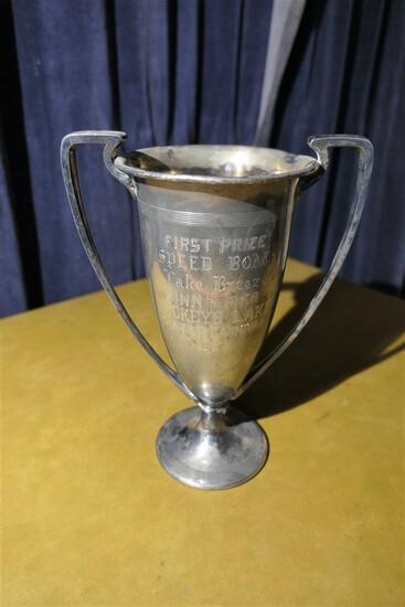 1927 Buckeye Lake Speed Boat First Place Race Trophy
