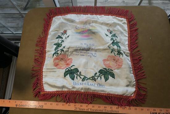 Antique Buckeye Lake Ohio Pillow Sham
