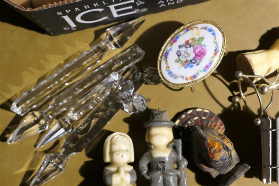 Group Lot assorted misc. small antique items
